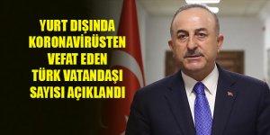 Yurt dışında koronavirüsten vefat eden Türk vatandaşı sayısı açıklandı