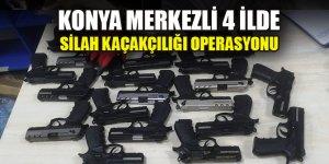 Konya merkezli 4 ilde silah kaçakçılığı operasyonu