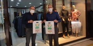 Konya İHH'dan esnafa 80 bin maske