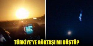 Türkiye'ye göktaşı mı düştü? Sosyal medya bu görüntüleri konuşuyor