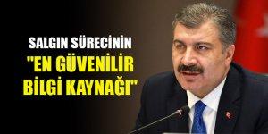 """Sağlık Bakanı Fahrettin Koca salgın sürecinde """"en güvenilir bilgi kaynağı"""" oldu"""