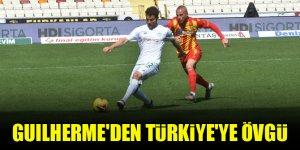 Konyaspor'un futbolcusu Guilherme'den Türkiye'ye övgü