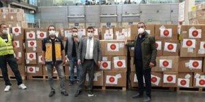 Türkiye'den Paraguay'ın Kovid-19 ile mücadele tıbbi yardım desteği