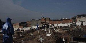 Brezilya'da son 24 saatte Kovid-19 nedeniyle 1272 kişi öldü