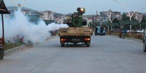 Beyşehir'de ilaçlama ekiplerinin mesaisi sürüyor