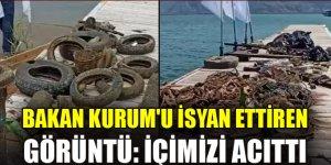"""Bakan Kurum: """"Deniz temizliği yaptığımız İztuzu'ndaki tablo içimizi acıttı"""""""
