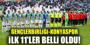 Gençlerbirliği-Konyaspor | İlk 11'ler belli oldu!