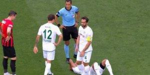 Konyaspor'da Hurtado yine sakatlandı