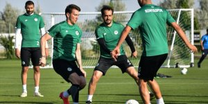Konyaspor, Sivasspor maçının hazırlıklarına başladı