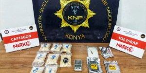Konya'da uyuşturucu operasyonunda 10 şüpheli yakalandı