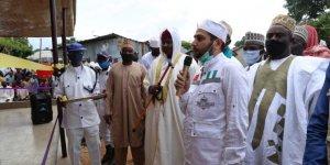 Türk gönüllüler Nijerya'da inşa ettikleri camiyi açtı