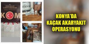 Konya'da kaçak akaryakıt operasyonu