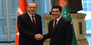 Erdoğan, Türkmenistan Devlet Başkanı Berdimuhammedov ile görüştü
