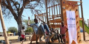 TİKA'dan Namibya'daki mülteci çocuklara destek