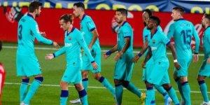 Barcelona, lider Real Madrid'i takibini sürdürdü