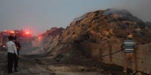 Konya'da balya yangını