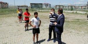 Ağrı'da 90 kişilik spor lisesi kontenjanına 385 öğrenci başvurdu
