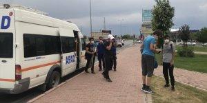 Kayseri'de Ali Dağı'nda mahsur kalan 8 genci AFAD kurtardı