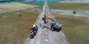 Beyşehir'deki doğal gaz ve altyapı çalışmaları