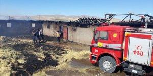 Konya'da ağıl yangını