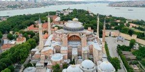 """Ayasofya imar planlarına """"Ayasofya Camii-Külliyesi"""" olarak işlenecek"""