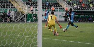 Trabzonspor'un 16 maçlık serisi bitti