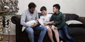 Filistinli aile yeni doğan kızlarına Ayasofya adını verdi
