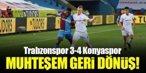 Trabzonspor 3-4 Konyaspor | MUHTEŞEM GERİ DÖNÜŞ!