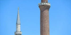 Ayasofya'nın minarelerinden 4 müezzin birlikte sela okudu