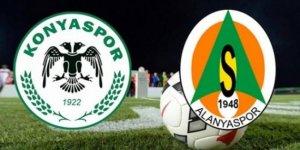 Konyaspor-Alanyaspor | İLK 11'LER BELLİ OLDU!