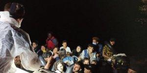Türk kara sularına geri itilen 56 sığınmacı kurtarıldı