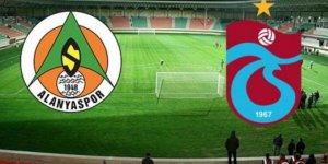 Trabzonspor-Aytemiz Alanyaspor maçından notlar