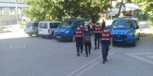 Bursa'da kablo çaldıkları iddia edilen 6 şüpheliden 2'si tutuklandı