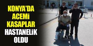 """Konya'da """"acemi kasaplar"""" hastanelik oldu"""