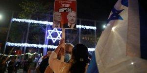 İsrail'de Netanyahu karşıtı protestolar devam ediyor
