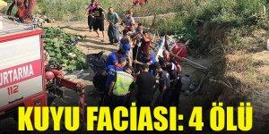 Adana'da kuyu faciası: 4 ölü