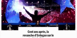 Erdogan takes revenge on Treaty of Sevres: French daily