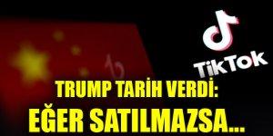 Trump tarih verdi: Satılmazsa TikTok'u yasaklayacak
