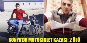 Altınekin'de motosiklet kazası: 2 ölü