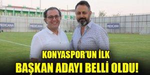 Konyaspor'un ilk başkan adayı belli oldu!