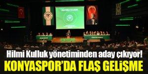 Konyaspor'da flaş gelişme! Hilmi Kulluk yönetiminden aday çıkıyor