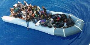 Türk kara sularına bırakılan 41 sığınmacı kurtarıldı