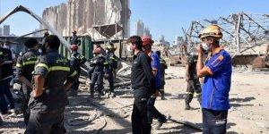 Türk ekiplerin Beyrut Limanı'ndaki arama kurtarma faaliyetleri sürüyor