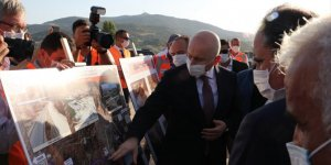 Bakan Karaismailoğlu Uşak Çevre Yolu'nu inceledi
