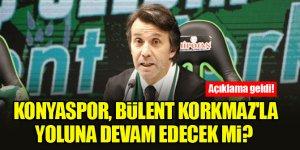 Konyaspor, Bülent Korkmaz'la yoluna devam edecek mi? Açıklama geldi!
