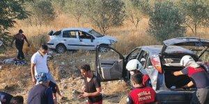 Muğla-Aydın karayolunda kaza: 4 yaralı
