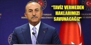 Çavuşoğlu'dan Yunanistan ile Akdeniz'de yaşanan gerilimle ilgili açıklama