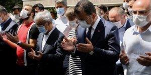 İmamoğlu, HDP'li Sancar'ın kardeşinin cenazesine katıldı