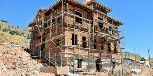Osmanlı mimarisiyle yapılan konak restore ediliyor