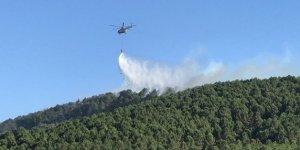 Aydos Ormanı'ndaki yangın kontrol altına alındı